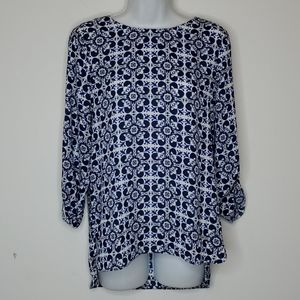 Lily Morgan high/low Blouse